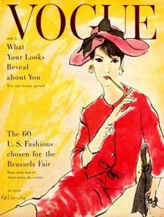 Vintage Vogue magazine covers - mylusciouslife.com - Vintage Vogue covers42.jpg