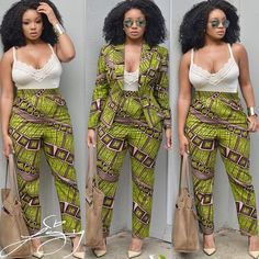 Today it's all about Ankara styles. Here are pictures of lovely Ankara styles. African Dresses For Women, African Print Dresses, African Fashion Dresses, African Attire, African Wear, African Women, African Prints, Ankara Fashion, African Style