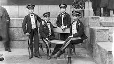 Efemérides de Madrid. 9 de marzo. Fotografía de los Niños de San Ildefonso en 1906 (Fuente blog de ABC)
