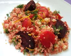 Couscous with roasted beetroot and carrot - CookTogether