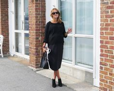 Outfit | The midi skirt