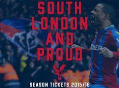 Crystal Palace Football Club Season Tickets 2015/16