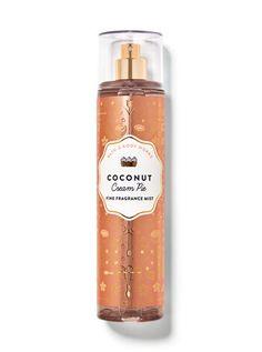 Coconut Cream Pie Fine Fragrance Mist | Bath & Body Works Bath And Body Works Perfume, Bath Body Works, Best Fragrances, Bath And Bodyworks, Coconut Cream, Coconut Body Wash, Toasted Coconut, Fragrance Mist, Cream Pie