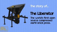 Open Source Compressed Earth Block maker. $3-5k to build.