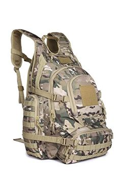 Urban Go Pack Sport Outdoor Military Rucksacks Tactical Molle Backpack Camping Hiking Trekking Bag 40L 09246 Multicam -- Visit the image link more details.(This is an Amazon affiliate link and I receive a commission for the sales)