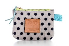 Polka Dot Coin Purse - READY TO SHIP