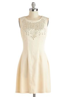 ModCloth-Two for the Glow Dress   It looks so elegant yet simple. The little beading is a great touch.