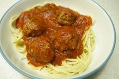 Our Favorite Spaghetti and Meatballs — Dairy and Egg Free!