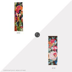 Daily Find: Anthropologie Brilliant Poppies Rug vs. Overstock NuLoom Handmade Floral Area Rug, floral runner look for less, copycatchic luxe living for less, budget home decor and design, daily finds, home trends, sales, budget travel and room redos