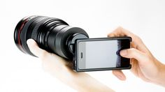 iPhoneographer : iPhone SLR mount