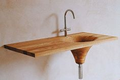 Names to Know in New Polish Design 2013 Wooden Bathtub, Wooden Bathroom, Bathroom Furniture, Wood Furniture, Bathroom Sink Design, Bathroom Interior Design, Wood Sink, Modern Shower, Shower Tub