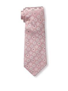 16% OFF Celine Men's Floral Tie, Light Pink