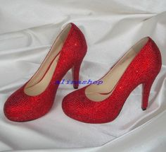 Possible wedding shoes, for a Wizard of OZ lover :)