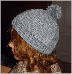 Grey hat with diagram Knit Crochet, Crochet Hats, Grey Hat, Winter Hats, Beanies, Knitting, Scarfs, Gloves, Blog