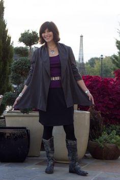 www.StyleFinderId.com Artisan Jacket in ponte knit