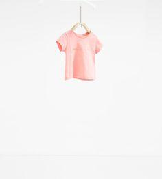 Imagem 1 de T-shirt texto da Zara