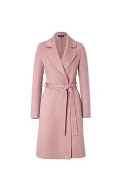 ESCADA Carcionay coat in pure cashmere Fall 2015
