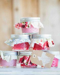 37 Edible Wedding Favors Guests Will Eat Up (Literally!) Small canning jars were filled with r Budget Wedding, Plan Your Wedding, Chic Wedding, Wedding Reception, Fall Wedding, Reception Ideas, Perfect Wedding, Party Wedding, Wedding Bells