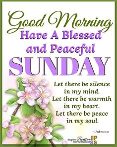 Positive Sunday Morning Blessings Images And Quotes Blessed Sunday Morning, Blessed Sunday Quotes, Good Morning Sunday Images, Sunday Prayer, Sunday Morning Quotes, Good Morning Images Flowers, Good Morning Inspiration, Morning Blessings, Good Morning Messages