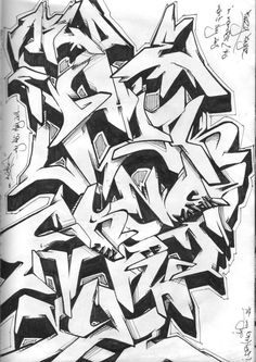 ABC Scetch By FuzzyFingaz On DeviantArt · Best GraffitiGraffiti ...