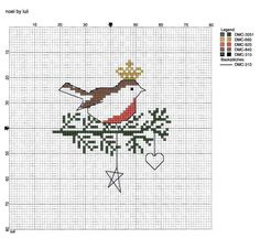 What a lovely Christmas embroidery from Luli