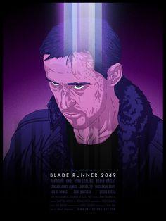 Blade Runner 2049 (2017) - hand drawn. HD Wallpaper From Gallsource.com
