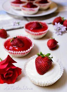 Mini Cheesecakes alle Fragole