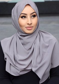 Oyster Crepe Hijab