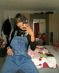 Image discovered by Find images and videos about fashion, model and mirror selfie on We Heart It - the app to get lost in what you love. Indie Outfits, Retro Outfits, New Outfits, Vintage Outfits, Fashion Outfits, Hip Hop Outfits, Cute Fall Outfits, Cool Outfits, Summer Outfits