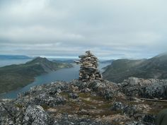 Inukshuk - Torngats (Labrador) - Photo by Augustus Pike