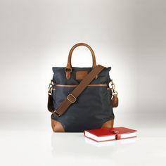 Nylon Tote - Totes  Bags & Business Accessories - RalphLauren.com