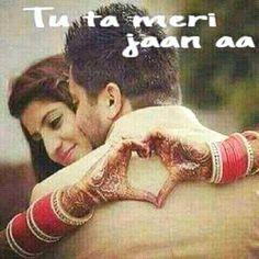 Hindi Quotes, Quotations, Desi Hindi, Cool Dpz, Punjabi Love Quotes, Punjabi Couple, Muslim Couples, Couple Quotes, Love Couple