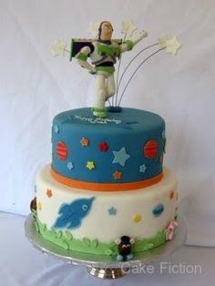 Cute to modify for Devon's half of their birthday cake!