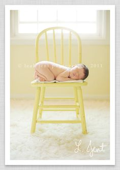 so cute - love the yellow chair