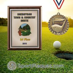 Golf season is winding down in the northern regions, are you hosting one last tournament? If so, make it memorable with one of our customizable award options, whether you're looking for a plaque, medals, or maybe even a perpetual award. We can help you hit a hole in one! www.sportplaques.com #GolfTournament #NearlyRyderCup #GolfAwards #SportPlaques #GolfLoversDay Award Plaques, Sports Awards, How To Memorize Things, Things To Come, Lovers Day, Town And Country, Banquet, Golf, Invitations