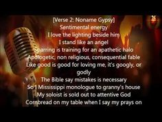 Chance The Rapper feat  Noname Gypsy -  Israel Sparring (Lyrics)