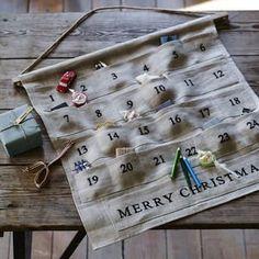 Tilly Linen Advent Calendar - advent calendars