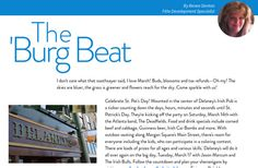 'The 'Burg Beat' from 'Fête Magazine March 2015' by jay