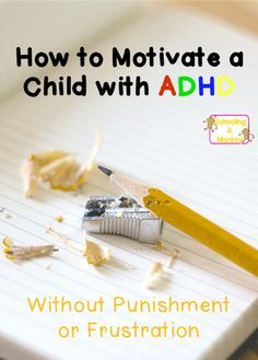 If you are homeschooling a child with ADHD, use these ADHD motivation tips to keep them on track and avoid power struggles. Homework Motivation, Motivation For Kids, Homework Chart, Homework Planner, Kids Homework, Asd, Aspergers, Kids With Adhd, Children With Adhd