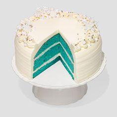 Teal Velvet Cake