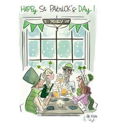 Illustration Mignonne, Simple Illustration, Illustration Sketches, Drawing Sketches, Sketch Pad, St Paddys Day, Happy St Patricks Day, Drawing Clothes, Cute Disney