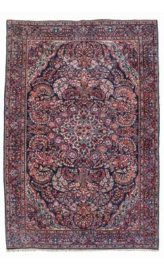 SAROUK RUG, WEST PERSIA CIRCA 1930 Dimensions: approx. 195 x 130 cm I  Albahie Auction House