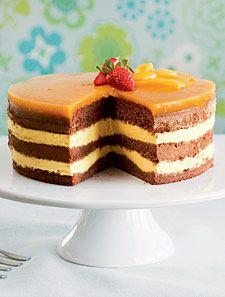 Hyvää muulloinkin kuin pääsiäisenä. // Mango-suklaakakku   Koti ja keittiö