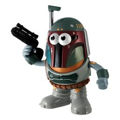 It's The Mr Potato Head - Star Wars - Boba Fett. Potato Head is traveling to a galaxy far, far away as he emulates your favorite characters from Star Wars! Mr Potato Head, Potato Heads, Star Wars Legacy, Star Wars Boba Fett, Orphan Black, My Spirit Animal, Cool Items, Victorian Era, Little Ones