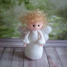 Amigurumi Stuffed Toy Angel Doll Baby Shower Gift Baby Girl