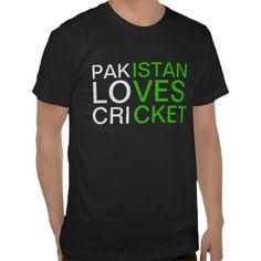 Pakistan Loves Cricket T- Shirt