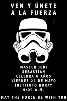 Invitación Star Wars