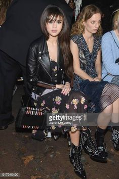 7b7b9be570fe61 Recording Artist Selena Gomez attends the Coach 1941 front row during New  York Fashion Week at