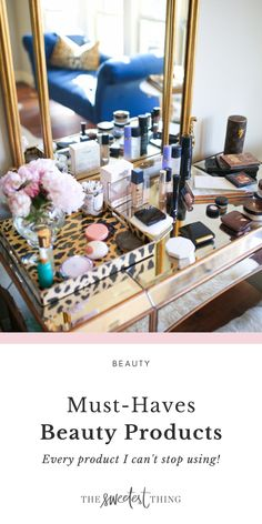 A full list of my makeup must-haves. My favorite primers, foundations, concealers, bronzers & more. Most of these are high-end products, and you can find them at Ulta, Sephora or Amazon. You can find dupes/drugstore versions of some of them | The Sweetest Thing by Emily Ann Gemma | Summer Beauty Beauty Tips For Skin, Best Beauty Tips, Beauty Review, Beauty Hacks, Makeup Must Haves, Beauty Must Haves, Summer Beauty, Summer Makeup, Best Skincare Products