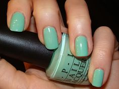 Oh hey! Get in lime! OPI nail color!:)